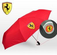 Ferrari Fan Scuderia Ferrari Regenschirm Taschenschirm Rot Geschenk Unisex für für Mann und Frau geeignet