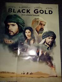 Film Plakat Orginal A1  Black Gold