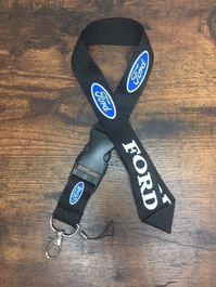 Ford Schlüsselanhänger Schlüssel Anhänger Band Schlüsselband für Herren & Damen mit Logo