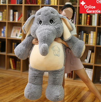 Elefant Elefanten Plüsch Plüschtier Kuscheltier XXL Geschenk Kind Kinder Frau Freundin Schweiz