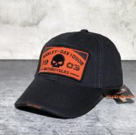Harley Fan Cap Harley-Davidson Kappe Mütze Totenkopf Skull Neu mit Etikett