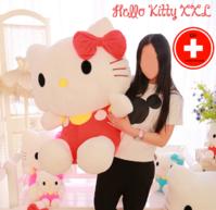 Hello Kitty Hellokitty Katze Plüsch Plüschtier XXL Plüschfigur Kuscheltier Geschenk Mädchen HK
