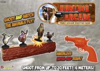 Jagd Schiessbude Arcade Gunslinger Shooting Set Tiere Zielscheibe Target Spielzeug Kinder Familie / Neu