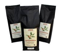 Kaffeebohnen aus Thailand geröstet