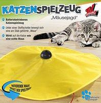 Katzenspielzeug Katzen Spielzeug Toy Undercover Maus TV Mäusejagd Zuhause Indoor Deheimu