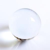 Kristallkugel zum Fotografieren