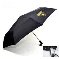 Lamborghini Fan Regenschirm / Taschenschirm Schwarz Geschenk Unisex für für Mann und Frau geeignet