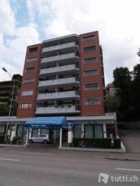 Lugano, Riva Paradiso 36, affitto monolocale arredato