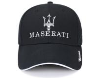 Maserati Cap Fan Mütze Baseballcap Kappe Schwarz Accessoire