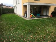 Meraviglioso appartamento duplex 4,5 locali in stile moderno con grande giardino privato a Ligornetto