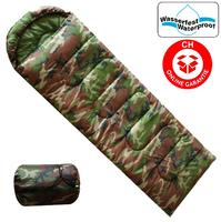 Militär Camping Schlafsack für Zelten Openair Camouflage Reisen Konzerte Outdoor Jagd