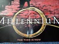 Millennium Plakat Orginal A1  signiert Laschet