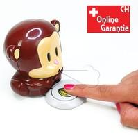 Nagellacktrockner Blow Monkey Affe Fingernägel Trockner Geschenk Idee für Frau Freundin