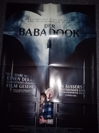 Orginal Film Plakat 2014  Der Babadook