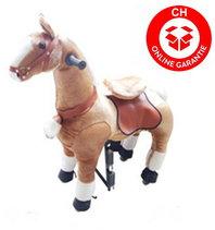 Pferd Pony zum Reiten für Kinder Kinderzimmer Spielzeug Mädchen Geschenk Kinder Kind Pferdeschauke Schweiz