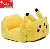 Pikachu Pokemon Katze Katzenbett Hunde Bett Hundebett Plüsch Herzig Süss