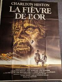 Plakat 1982 Heston Goldfieber Mother Lode