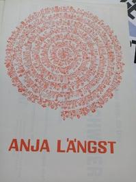 Plakat   Andruck. Anja Längst Kunst Plakat Entwurf. Der Rote Kreis. Heidenheim