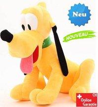 Plüschtier Pluto grosse XXL Plüschfigur Hund Disney aus Micky Maus Wunderhaus Geschenk Kind Kinder