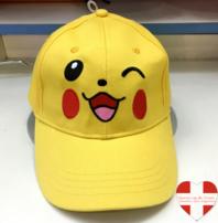 Pokemon Pokémon Pikachu Baseball Cap Basketball Mütze Kappe Erwachsene Fan Gelb