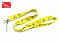 Pokémon Pikachu Pokemon Fan Schlüssel Anhänger Schlüsselanhänger Schlüsselband Band Film Videospiel TV Serie Gelb Rot Pika