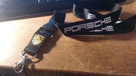 Porsche Auto Schlüsselband Schlüsselanhänger Schlüssel Anhänger Fan Geschenk