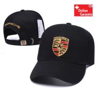 Porsche Cap Kappe Mütze Baseball Baseballcap Fan Schwarz Rot Weiss Beige Logo