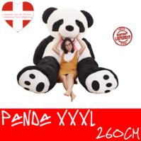 Riesen Panda Bär Pandabär Kuschelbär XXL XXXL 260cm 2.6m Geschenk Kind Kinder Frau Freundin Geburtstag Weihnachten