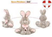 Riesen Plüsch Hase Kaninchen Plüschhase Plüschtier XXL Geschenk Kind Kinder Frau Freundin Ostern ILY I love you I liebe dich 120cm 1.2m