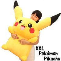 Riesengrosses Pokémon Pikachu XXL Plüsch Kuscheltier Plüschtier 120cm XXL Geschenk für Kinder Freund Sammler