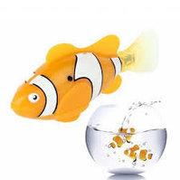 Robo Fisch Robofisch Nemo Clownfisch Wasser Fisch Haustier Spielzeug Kind Kinder Wasserspielzeug