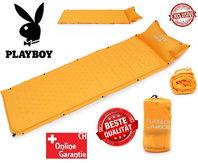 Selbstaufblasbare Playboy Luftmatratze Luft Matratze Schlafsack Schlafmatte Camping VIP Campen Outdoor Luxus