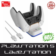 Sony Playstation 5 PS5 Controller DualSense Ladestation Gamepad Charger Zubehör Konsole
