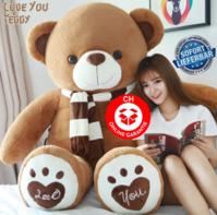 Teddy Bär Teddybär Plüschbär Plüschteddy Ted Teddy Love You Liebe dich Geschenk für Frau Freundin Verliebt Love Liebe Valentinstag